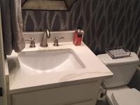 Secondary bath vanity