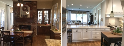 Kitchen to FR b&a