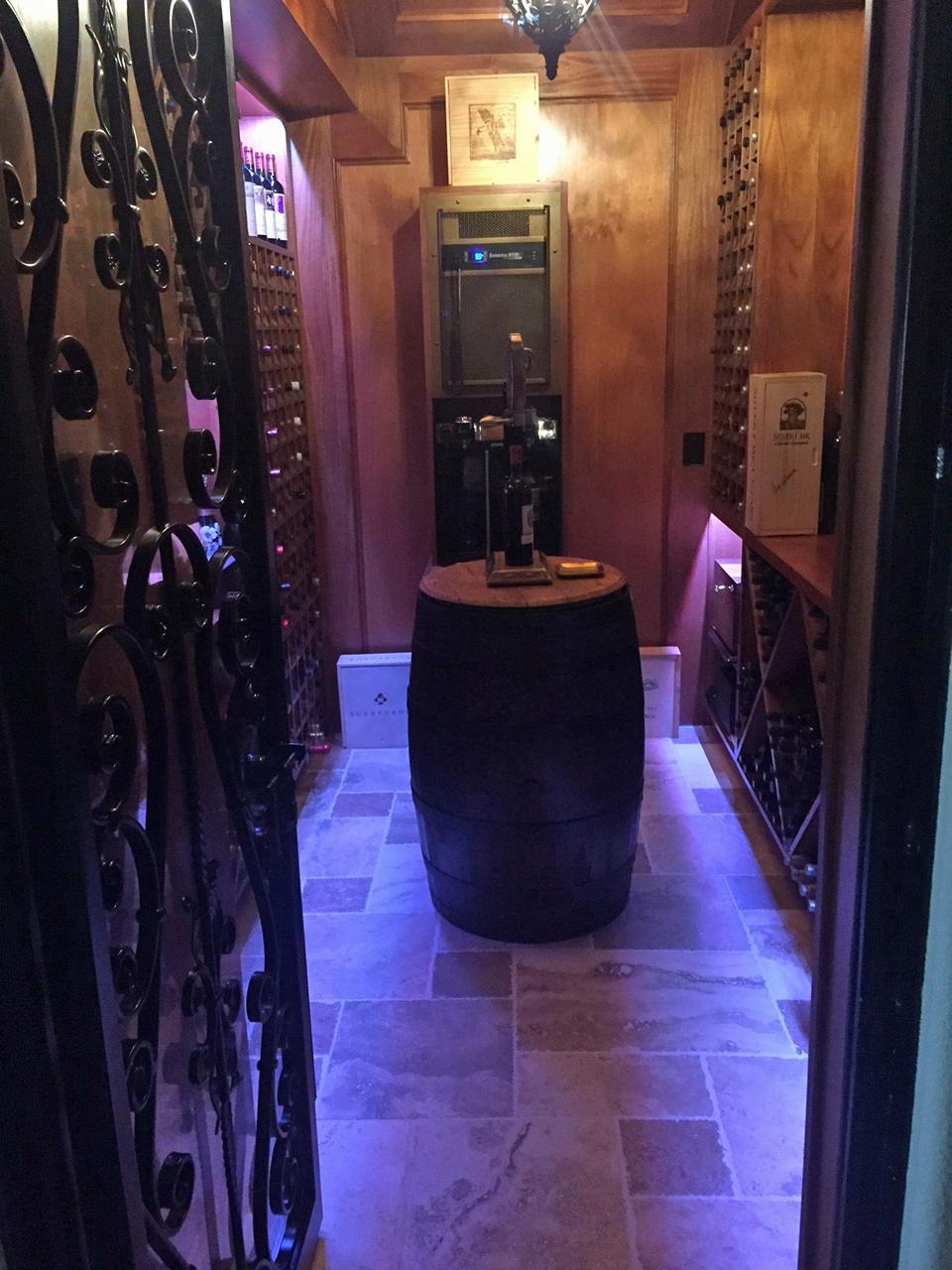 wine room 1 update
